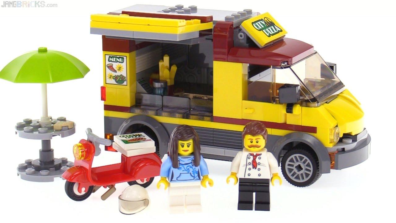 Lego City Pizza Van Review 60150