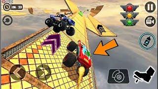 Crazy Monster Truck Legends 3D - Monster 4x4 Truck Stunt Games - Android Gameplay #3
