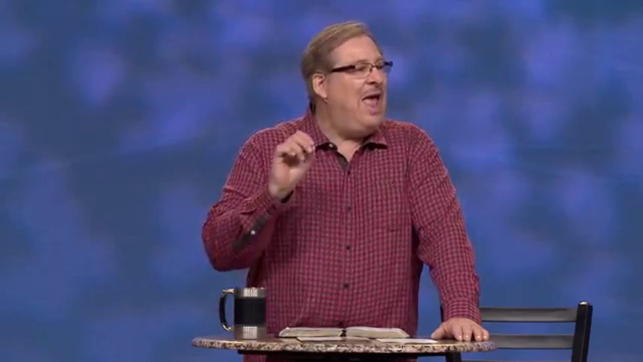 Learn How To Enjoy A Fear-Not Christmas with Rick Warren