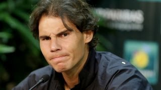 Rafa Upset with New Rule, Ferrer's Meltdown, and Capriati's Assault Drama