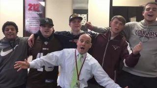 'Hallelujah' a snow day! School's unique cancellation video