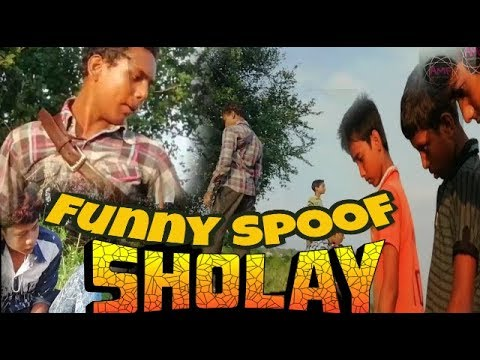 SHOLAY movie funny spoof