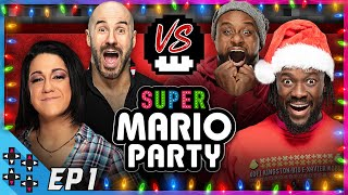 A MERRY MARIO PARTY #1: Bayley vs. Big E vs. Kofi Kingston vs. Cesaro