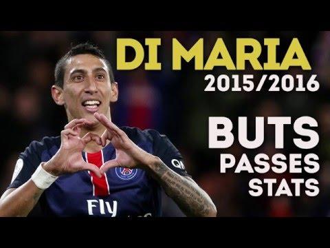 Buts, passes : la saison d'Angel Di Maria en chiffres (2015-2016)
