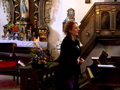 Květina Krčmářová:  Sposa son disprezzata from Vivaldi's opera Bajazet