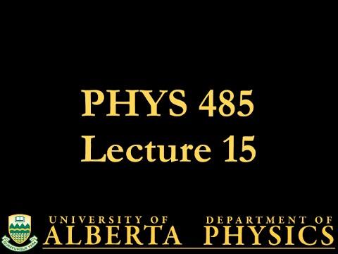 PHYS 485 Lecture 15: Quantum Electrodynamics