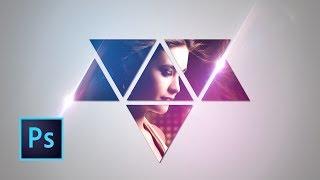 Tutorial Photoshop | Wallpaper Abstracto con Triángulos