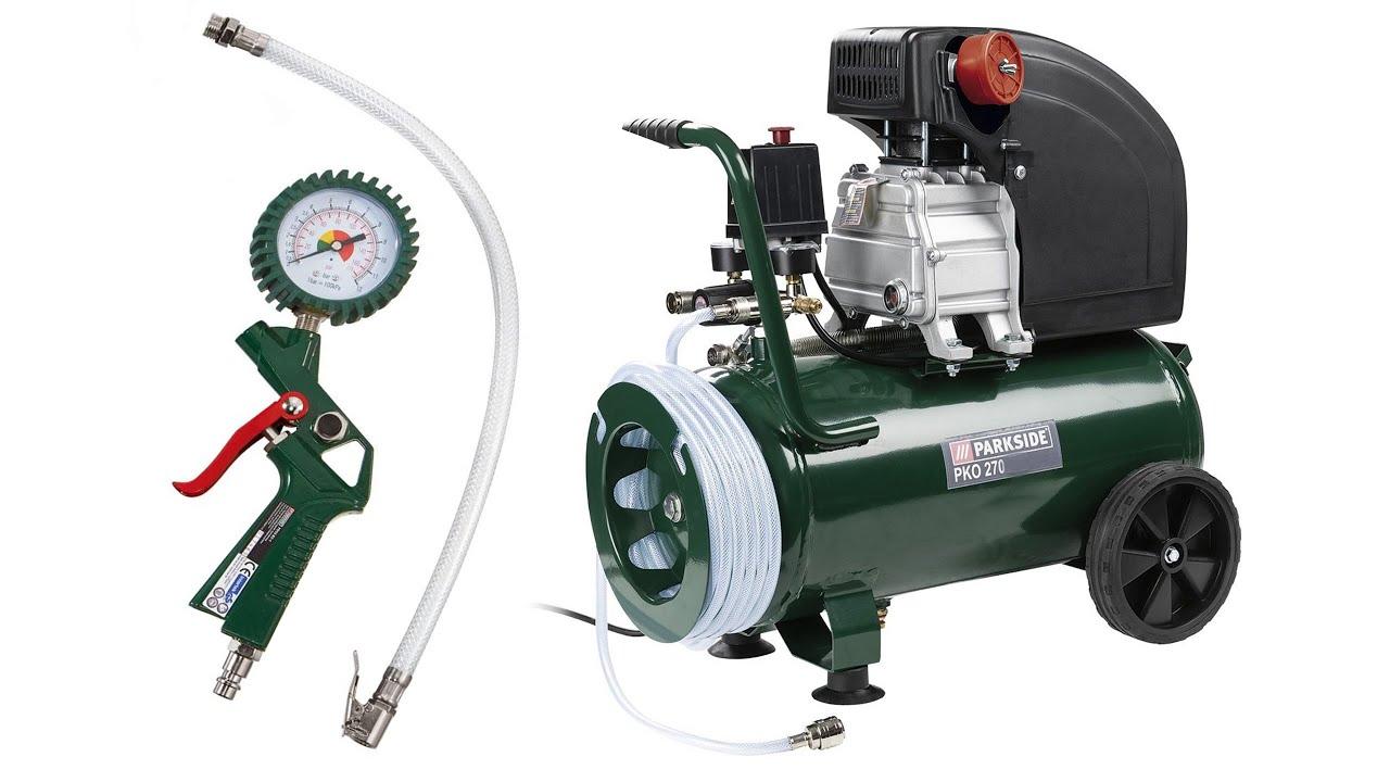 Unboxing Lidls Parkside 50l Compressor And A Quick Look At
