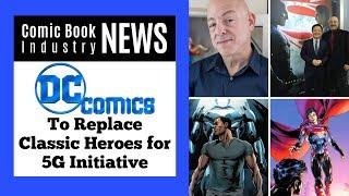 DC Comics Replacing Classic Heroes During 5G Initiative