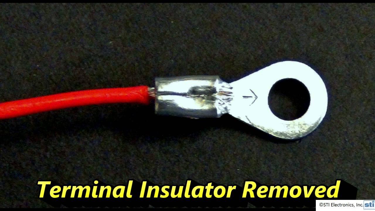 medium resolution of hot tips 6 crimp ring terminal