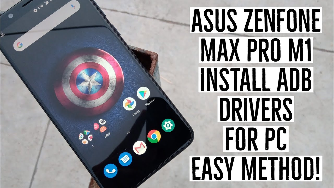 How to Install ADB Drivers on PC for Asus Zenfone Max Pro M1 Easy Method!