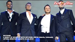 BOYZONE FULL A NIGHT OF REUNION  live in Jakarta, Indonesia 20151