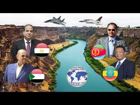Ethiopia & Sudan VS Egypt & Eritrea Military Power Comparison 2018