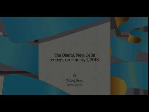 The Oberoi, New Delhi - Opening soon