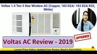 Voltas AC Review 2019 183 DZA Window 1 5 Ton