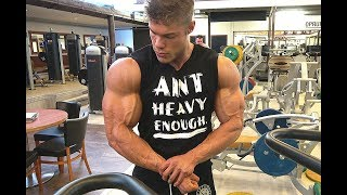 HEAVY CHEST WORKOUT - Low-Carb Meal Idea - BodyPower UK!