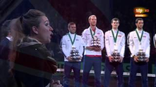 Murray-Goffin last point Davis Cup final Great Britain vs Belgium 2015 Ghent