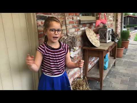 Mijn eerste video konijnen routine