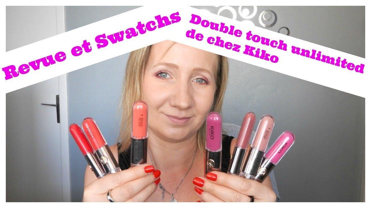 Revue Et Swatchs Double Touch Unlimited De Chez Kiko