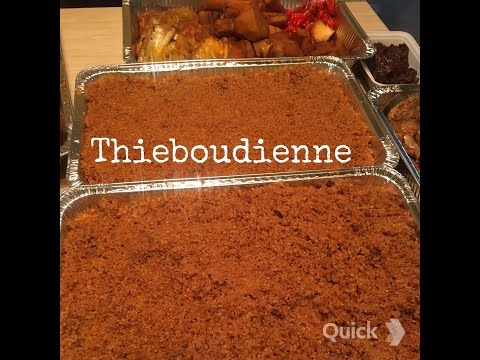 Thieboudienne. Red Rice w/ Fish