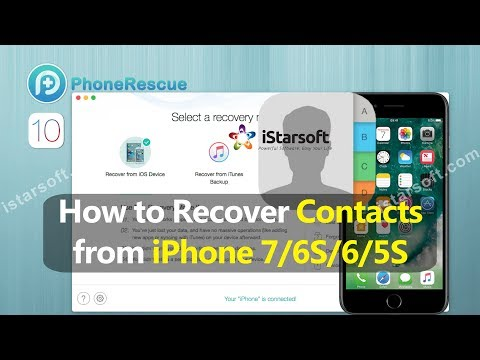 How To Recover Contacts From Iphone 6s 5s With Ios