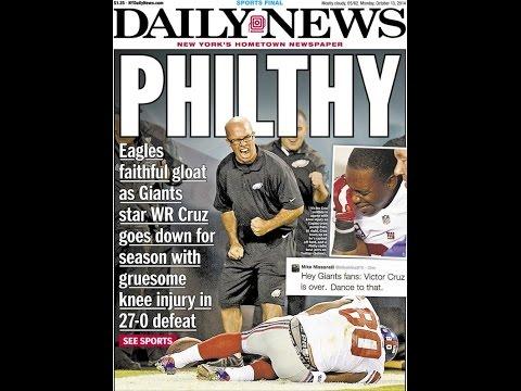 The New York Daily News WRONGFULLY Shuns Philadelphia.