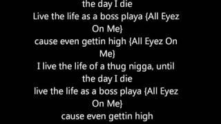 2pac   all eyez on me lyrics