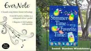 Evernote™ Garden Flag - 14EN2962 Summer Time, Favorite Time Thumbnail