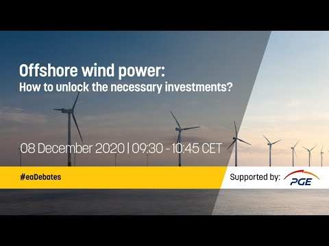 Offshore wind power: How to unlock the necessary investments?
