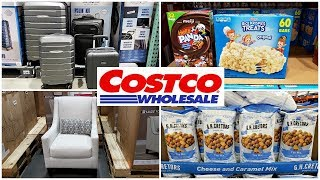 COSTCO NEW * Finds Luggage Furniture FOOD * SHOP WITH ME MAY 2019
