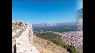 Город Аргос Крепость Лариса, Греция(http://elramd.com Город Аргос Крепость Лариса, Греция. На холме над городом Аргос расположена крепость Ларисса,..., 2012-10-23T12:21:17.000Z)