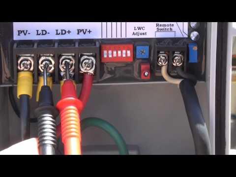 Solar Module Basics - testing, pumps and water harvesting