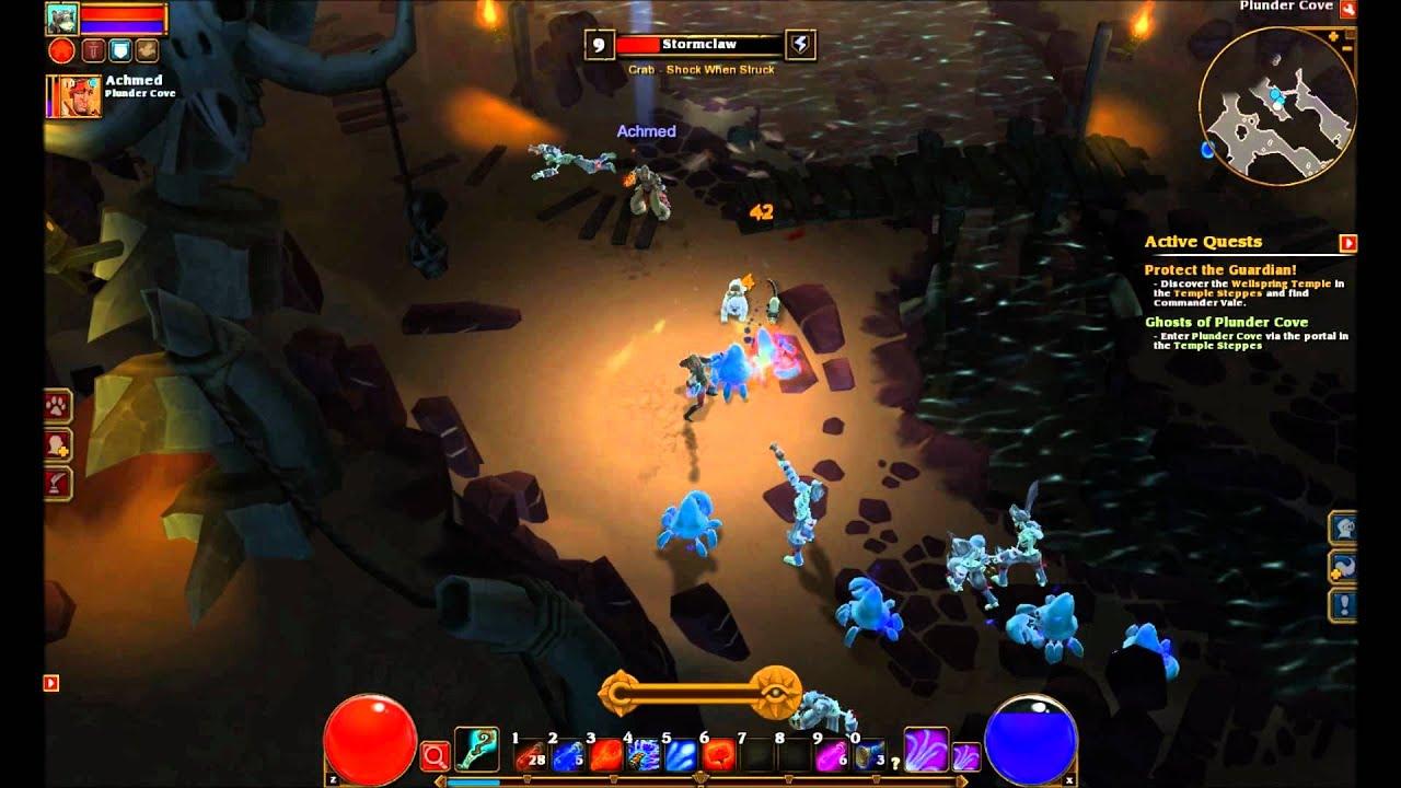 Torchlight II Let's Play pt 5: MTG Online DLC