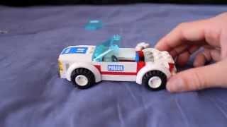 how to build a lego moc police car