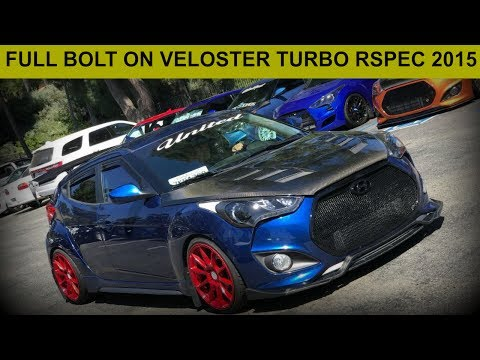 Full Bolt On Tuned Veloster Turbo R Spec Ride Along.