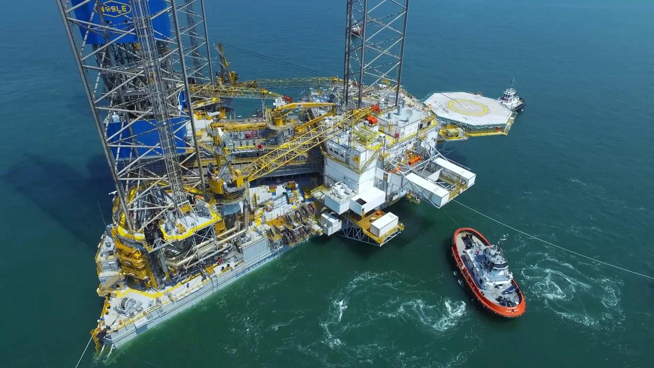 Kim Heng Marine & Oilfield World Largest Jackup Rig - Noble Lloyd Noble