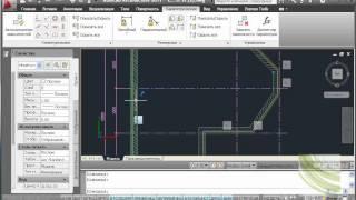 Autocad Architecture создание эркерных стен. Параметры
