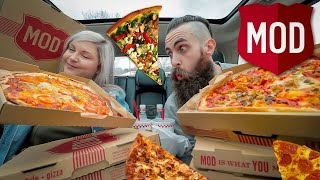 MOD PIZZA MAYHEM | 6 MOD PIZZAS | The Back Seat Blow Out Ep.2