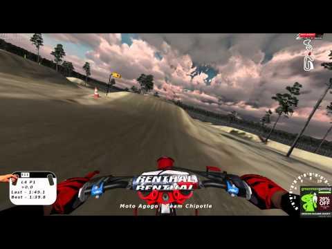 Fastest lap around NJ Mx Park Field of Dreams (MX Sim) so far