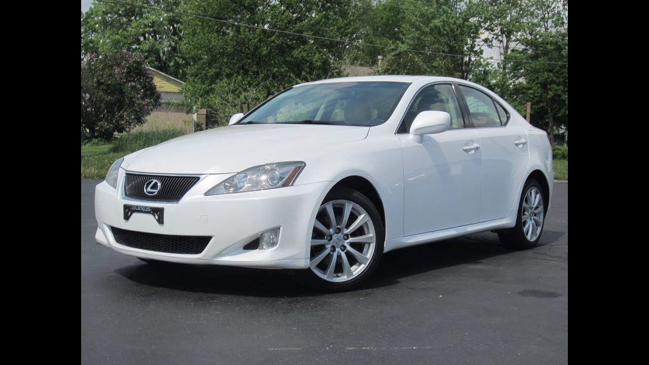 2007 Lexus IS 250 AWD Pearl White SOLD!!!   YouTube