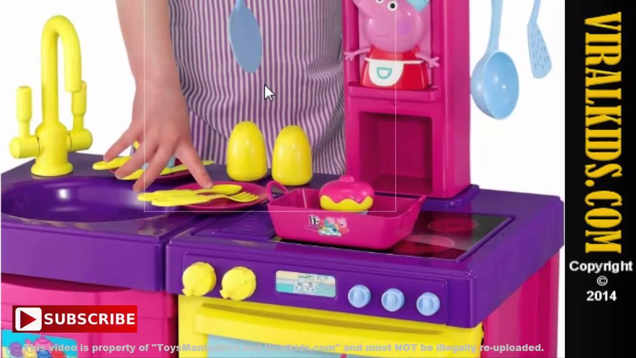 pig kitchen san diego remodel peppa cook n play set review youtube premium