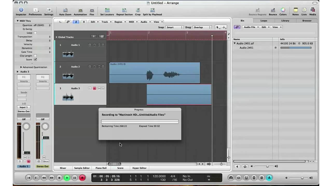 how to logic pro 9 beginners guide to recording live audio sound rh youtube com Logic Pro 4 Logic Pro 6