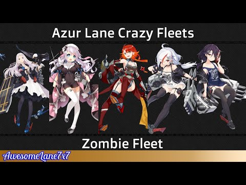 Azur Lane Crazy Fleets: Zombie Fleet