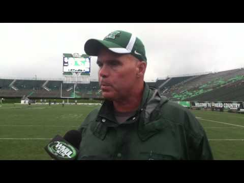 Bill Legg after practice on 9-7-11