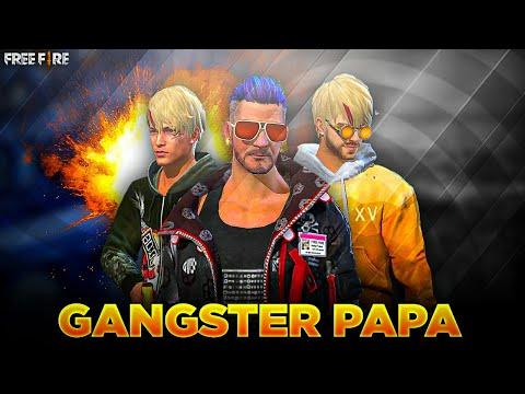 GANGSTER PAPA 😎 || FREE FIRE EMOTIONAL SHORT STORY 🔥 || HINDI FILM 🎥🎬 || PIROTES GAMING