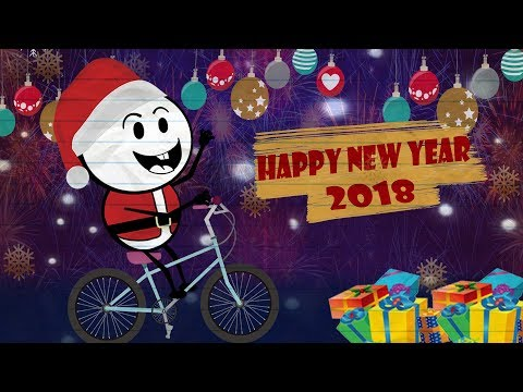 Happy New Year 2018 Celebrations ~ Pencil Cartoons #55