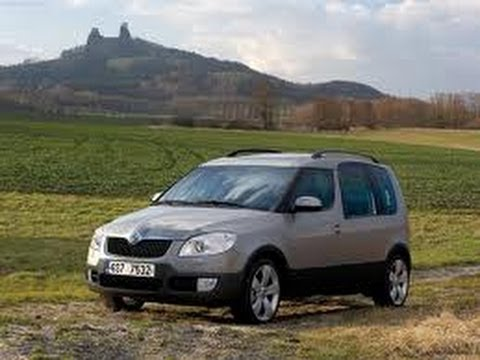 skoda roomster scout youtube. Black Bedroom Furniture Sets. Home Design Ideas