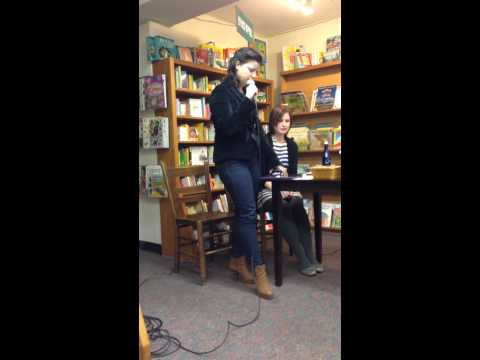 Rebecca Soler Reading from Cress by Marissa Meyer at Politics & Prose in Washington, D.C. 2-12-14