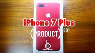 Kırmızı iPhone 7 Plus ve Siyah Silikon Kılıf — Kutu Açılmı & Ürün İncelemeleri