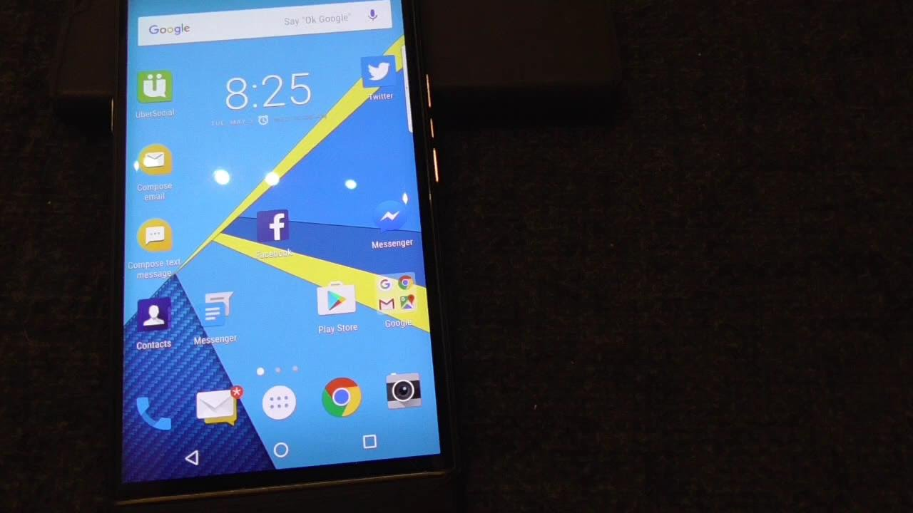 BLACKBERRY PRIV MARSHMALLOW ANDROID OS UPDATE VIEW FEATURES full video